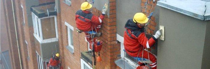 Правильное оштукатуривание фасада здания 2