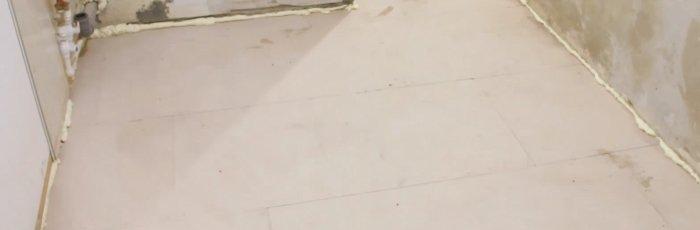 Сухая стяжка пола с керамзитом 3