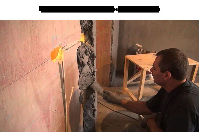 Как оштукатурить стену своими руками без маяков