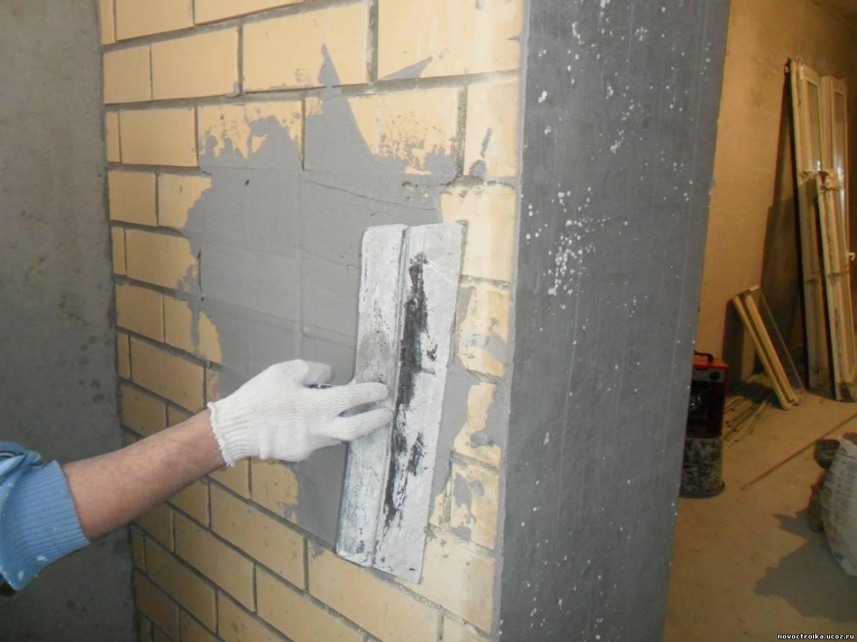 Штукатурка стены своими руками - как сделать правильно. штук.